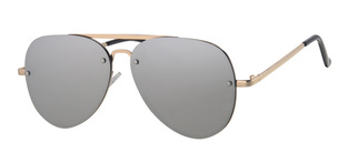 LEVEL ONE UV-400 sunglasses κωδ. L3204-3 SILVER