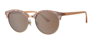 LEVEL ONE UV-400 sunglasses κωδ. L6589-2 NUDE