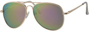 REVEX POLARIZED sunglasses κωδ.-POL3003-3-GOLD GREEN