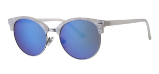 LEVEL ONE UV-400 sunglasses κωδ. L6589-1 WHITE